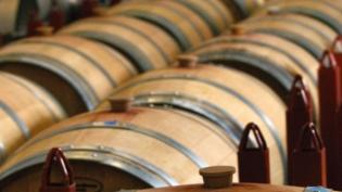 Tassel Ridge Winery Barrels