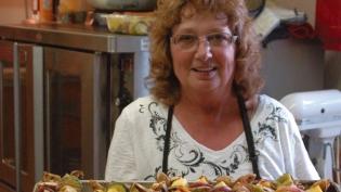 Dianna Isder, head chef at the Iowa Lakeside Laboratory